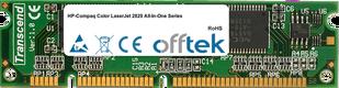 Color LaserJet 2820 All-In-One Séries 128Mo Module - 100 Pin 3.3v SDRAM PC133 SoDimm