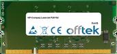LaserJet P2015d 256Mo Module - 144 Pin 1.8v DDR2 PC2-3200 SoDimm