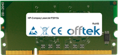 LaserJet P2015x 256Mo Module - 144 Pin 1.8v DDR2 PC2-3200 SoDimm