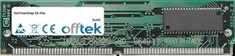 PowerEdge XE 433s 64Mo Kit (2x32Mo Modules) - 72 Pin 5v EDO Non-Parity Simm