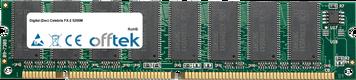 Celebris FX-2 5200M 128Mo Module - 168 Pin 3.3v PC100 SDRAM Dimm