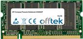 Presario Notebook V2020AP 1Go Module - 200 Pin 2.5v DDR PC333 SoDimm