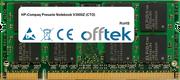 Presario Notebook V3000Z (CTO) 1Go Module - 200 Pin 1.8v DDR2 PC2-4200 SoDimm