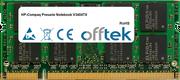 Presario Notebook V3404TX 1Go Module - 200 Pin 1.8v DDR2 PC2-5300 SoDimm