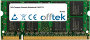 Presario Notebook V3431TU 1Go Module - 200 Pin 1.8v DDR2 PC2-5300 SoDimm