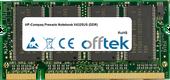 Presario Notebook V4325US (DDR) 1Go Module - 200 Pin 2.5v DDR PC333 SoDimm