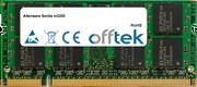 Sentia M3200 1Go Module - 200 Pin 1.8v DDR2 PC2-3200 SoDimm