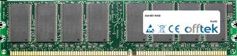 BE7-RAID 1Go Module - 184 Pin 2.5v DDR266 Non-ECC Dimm