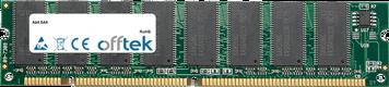 SA6 256Mo Module - 168 Pin 3.3v PC133 SDRAM Dimm