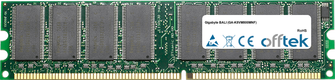 BALI (GA-K8VM800MNF) 1Go Module - 184 Pin 2.6v DDR400 Non-ECC Dimm