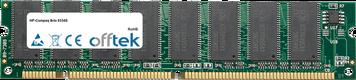 Brio 8334S 64Mo Module - 168 Pin 3.3v PC100 SDRAM Dimm