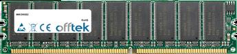 DK8S2 1Go Module - 184 Pin 2.6v DDR400 ECC Dimm (Dual Rank)