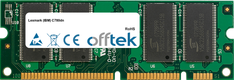 C780dn 512Mo Module - 100 Pin 2.5v DDR PC2100 SoDimm