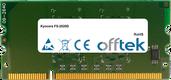 FS-2020D 1Go Module - 144 Pin 1.8v DDR2 PC2-5300 SoDimm
