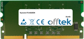 FS-4020DN 1Go Module - 144 Pin 1.8v DDR2 PC2-5300 SoDimm