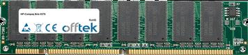 Brio 8376 64Mo Module - 168 Pin 3.3v PC100 SDRAM Dimm