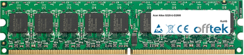Altos G320-U-D2800 2Go Module - 240 Pin 1.8v DDR2 PC2-4200 ECC Dimm (Dual Rank)