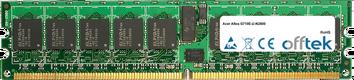 Altos G710E-U-N2800 2Go Module - 240 Pin 1.8v DDR2 PC2-4200 ECC Registered Dimm (Dual Rank)