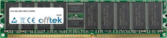 Altos G901 (G901-U-G3000) 8Go Kit (4x2Go Modules) - 184 Pin 2.5v DDR266 ECC Registered Dimm (Dual Rank)