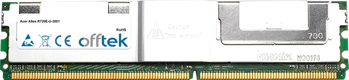Altos R720E-U-3001 4Go Kit (2x2Go Modules) - 240 Pin 1.8v DDR2 PC2-5300 ECC FB Dimm