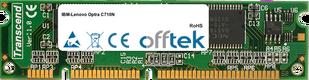 Optra C710N 128Mo Module - 100 Pin 3.3v SDRAM PC100 SoDimm