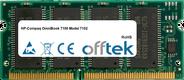OmniBook 7100 Model 7102 128Mo Module - 144 Pin 3.3v PC66 SDRAM SoDimm