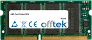 Tech Rodeo 5032 64Mo Module - 144 Pin 3.3v PC66 SDRAM SoDimm