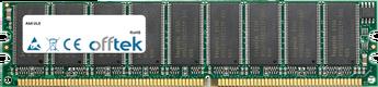 UL8 1Go Module - 184 Pin 2.6v DDR400 ECC Dimm (Dual Rank)