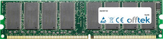 IS7-V2 1Go Module - 184 Pin 2.6v DDR400 Non-ECC Dimm