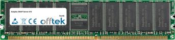 SNAP Server 410 1Go Module - 184 Pin 2.5v DDR400 ECC Registered Dimm