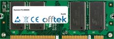 FS-3900DN 512Mo Module - 100 Pin 2.5v DDR PC2100 SoDimm
