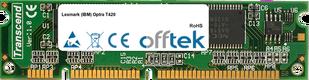 Optra T420 128Mo Module - 100 Pin 3.3v SDRAM PC100 SoDimm