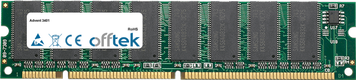 3401 256Mo Module - 168 Pin 3.3v PC100 SDRAM Dimm