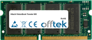 VisionBook Traveler 600 64Mo Module - 144 Pin 3.3v PC66 SDRAM SoDimm