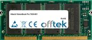 VisionBook Pro 7630-001 64Mo Module - 144 Pin 3.3v PC66 SDRAM SoDimm