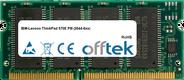 ThinkPad 570E PIII (2644-6xx) 256Mo Module - 144 Pin 3.3v PC133 SDRAM SoDimm