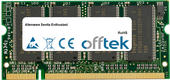 Sentia Enthusiast 512Mo Module - 200 Pin 2.5v DDR PC266 SoDimm
