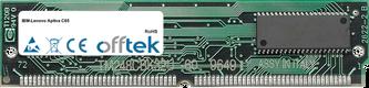 Aptiva C65 64Mo Kit (2x32Mo Modules) - 72 Pin 5v EDO Non-Parity Simm