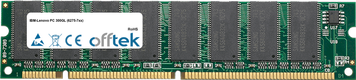 PC 300GL (6275-7xx) 128Mo Module - 168 Pin 3.3v PC100 SDRAM Dimm