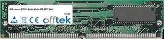 PC 300 Séries Model 330 (6577-7xx) 64Mo Kit (2x32Mo Modules) - 72 Pin 5v EDO Non-Parity Simm