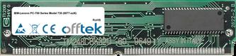 PC-700 Séries Model 730 (6877-xxN) 64Mo Kit (2x32Mo Modules) - 72 Pin 5v EDO Non-Parity Simm
