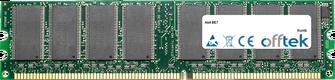 BE7 1Go Module - 184 Pin 2.5v DDR333 Non-ECC Dimm