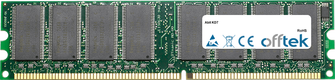 KD7 1Go Module - 184 Pin 2.5v DDR266 Non-ECC Dimm