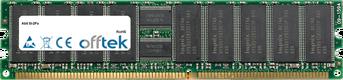 SI-2Pa 2Go Module - 184 Pin 2.5v DDR333 ECC Registered Dimm (Dual Rank)