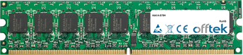 A-S78H 1Go Module - 240 Pin 1.8v DDR2 PC2-5300 ECC Dimm (Single Rank)