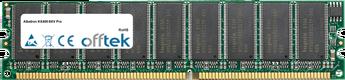KX400-8XV Pro 1Go Module - 184 Pin 2.6v DDR400 ECC Dimm (Dual Rank)