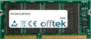 Extensa 500 Séries 64Mo Module - 144 Pin 3.3v PC66 SDRAM SoDimm