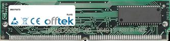 P54TS 64Mo Kit (2x32Mo Modules) - 72 Pin 5v EDO Non-Parity Simm