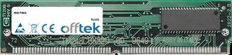 PIINS 64Mo Kit (2x32Mo Modules) - 72 Pin 5v EDO Non-Parity Simm