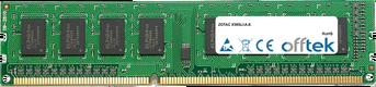 X58SLI-A-E 4Go Module - 240 Pin 1.5v DDR3 PC3-10664 Non-ECC Dimm